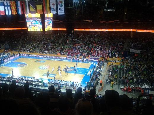 Varžybos Serbija-Rusija naujojoje Kauno arenoje