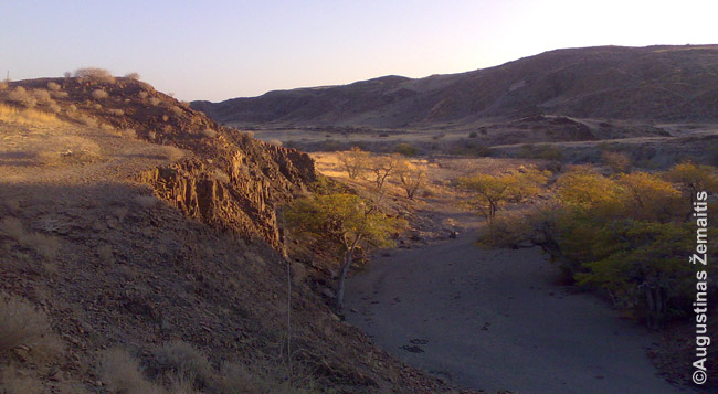 Namibijos dykumos   AŽ Kelionės ir Mintys