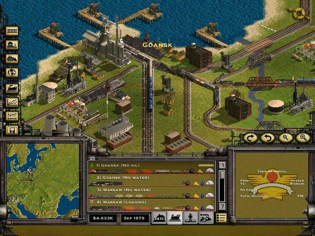 Railroad Tycoon II - 1998 m. strateginis ekonominis traukinių kompanijos valdymo žaidimas, iš kurio pirmąsyk sužinojau daug faktų apie geležinkelius bei verslą