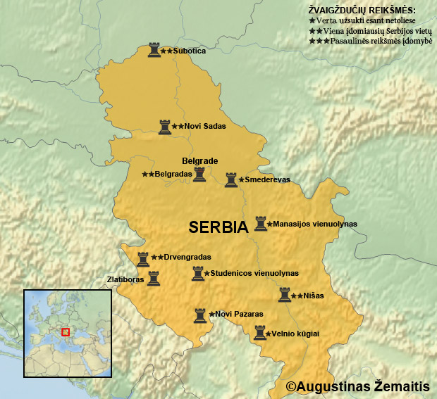 Karta Balkana 1878.Serbija Az Kelionės Ir Mintys